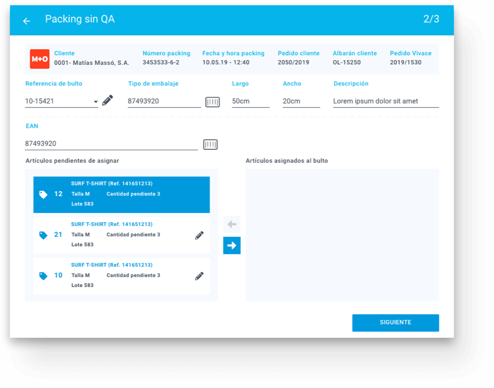 Live application screen where you would see customer details and other concepts